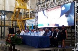 Grupo Zaltana inaugura sua fábrica de ração em RO