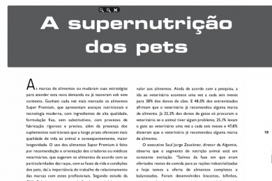 Os Superalimentos | Revista PetFoodBR